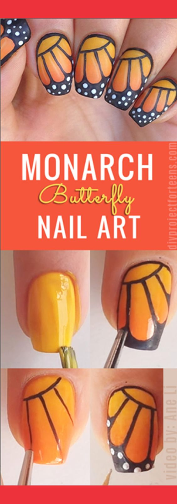 nail37 - 111 Nail Art Tutorials - Learn How To Do The Simple Ones To Intricate Details