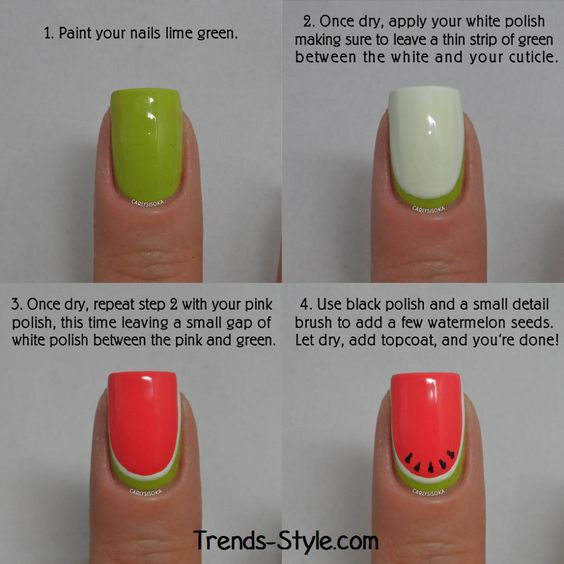 nail38 - 111 Nail Art Tutorials - Learn How To Do The Simple Ones To Intricate Details