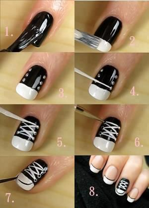 nail39 - 111 Nail Art Tutorials - Learn How To Do The Simple Ones To Intricate Details