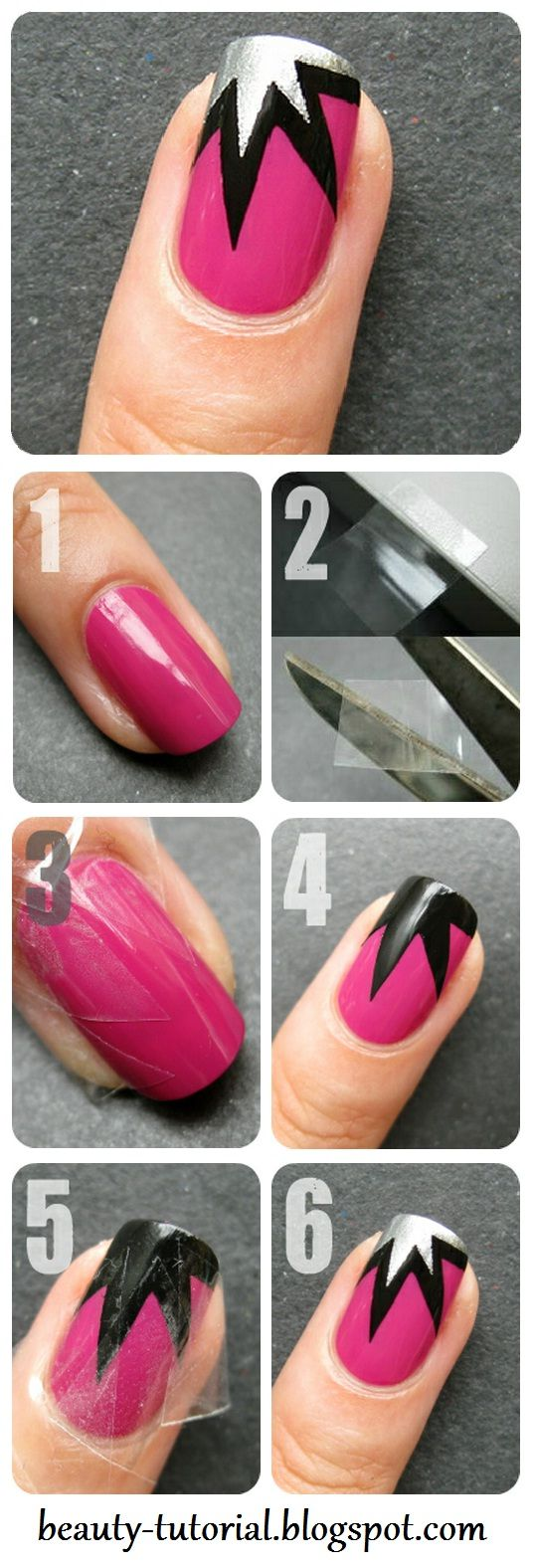 nail40 - 111 Nail Art Tutorials - Learn How To Do The Simple Ones To Intricate Details