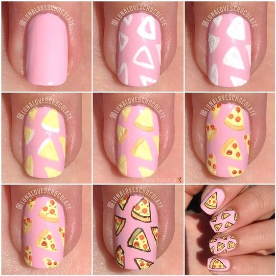 nail42 - 111 Nail Art Tutorials - Learn How To Do The Simple Ones To Intricate Details