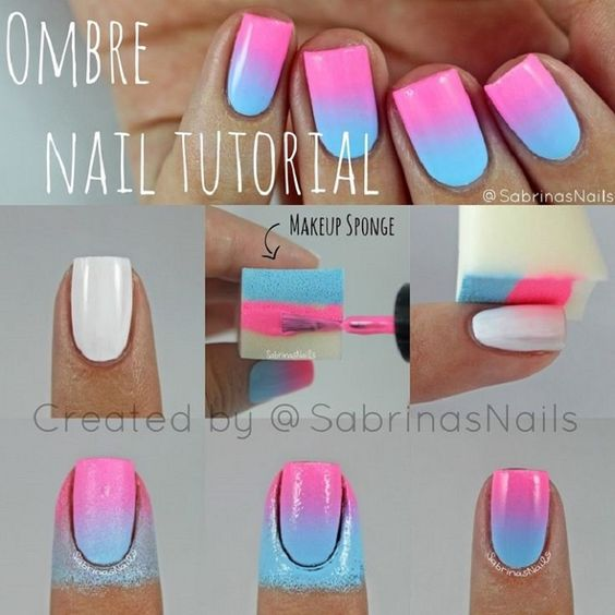 nail47 - 111 Nail Art Tutorials - Learn How To Do The Simple Ones To Intricate Details