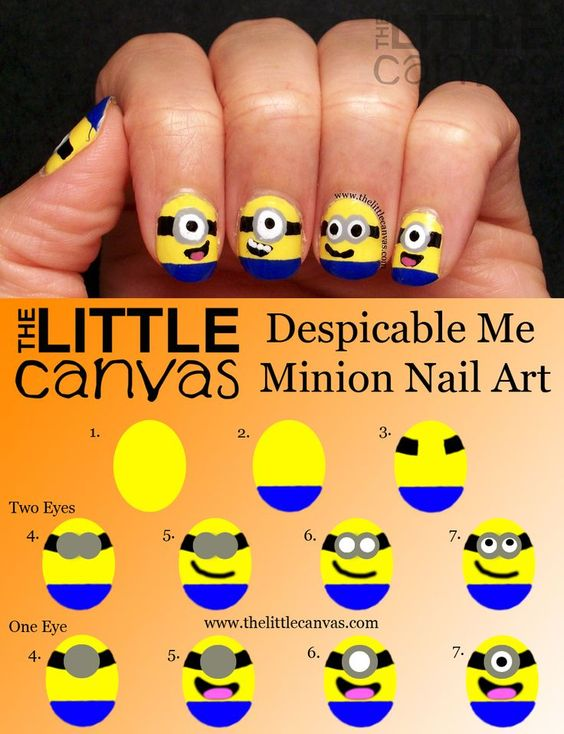 nail52 - 111 Nail Art Tutorials - Learn How To Do The Simple Ones To Intricate Details