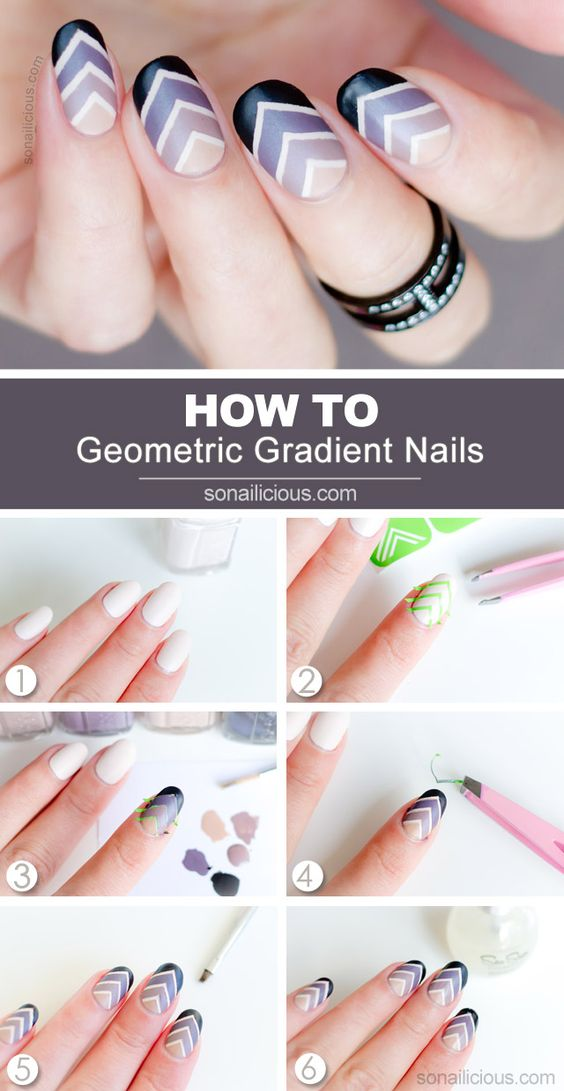 nail55 - 111 Nail Art Tutorials - Learn How To Do The Simple Ones To Intricate Details