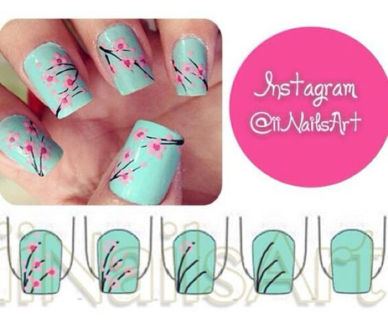 nail6 - 111 Nail Art Tutorials - Learn How To Do The Simple Ones To Intricate Details