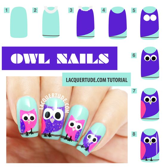 nail60 - 111 Nail Art Tutorials - Learn How To Do The Simple Ones To Intricate Details