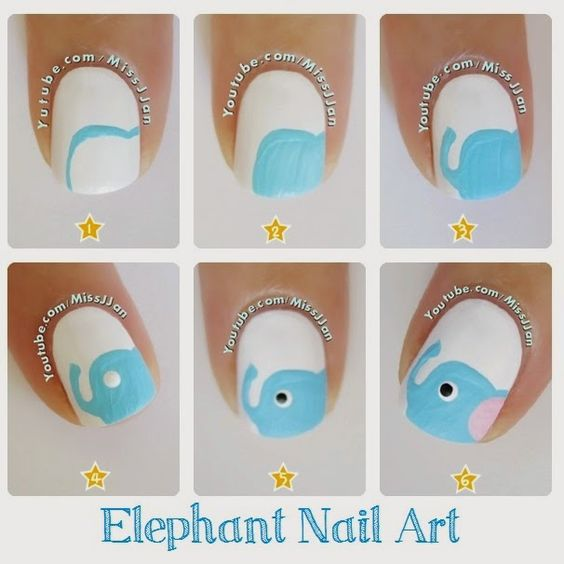 nail62 - 111 Nail Art Tutorials - Learn How To Do The Simple Ones To Intricate Details