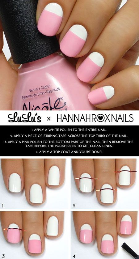 nail63 - 111 Nail Art Tutorials - Learn How To Do The Simple Ones To Intricate Details