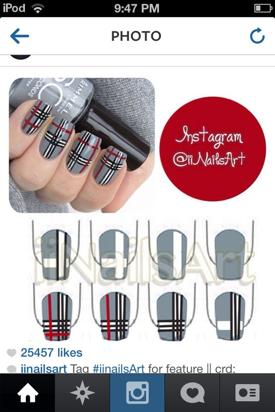 nail66 - 111 Nail Art Tutorials - Learn How To Do The Simple Ones To Intricate Details