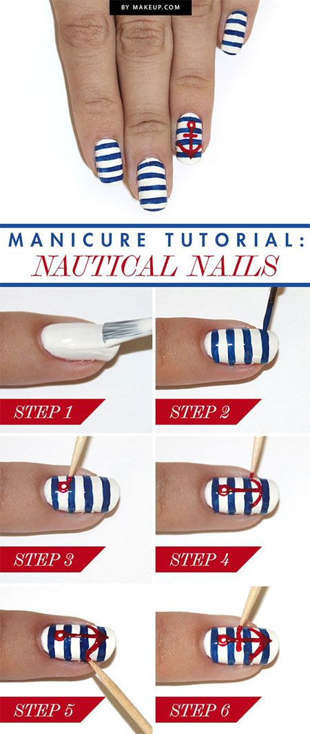 nail70 - 111 Nail Art Tutorials - Learn How To Do The Simple Ones To Intricate Details