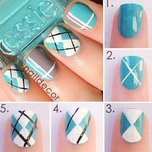 nail75 - 111 Nail Art Tutorials - Learn How To Do The Simple Ones To Intricate Details