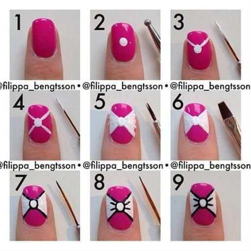 nail76 - 111 Nail Art Tutorials - Learn How To Do The Simple Ones To Intricate Details