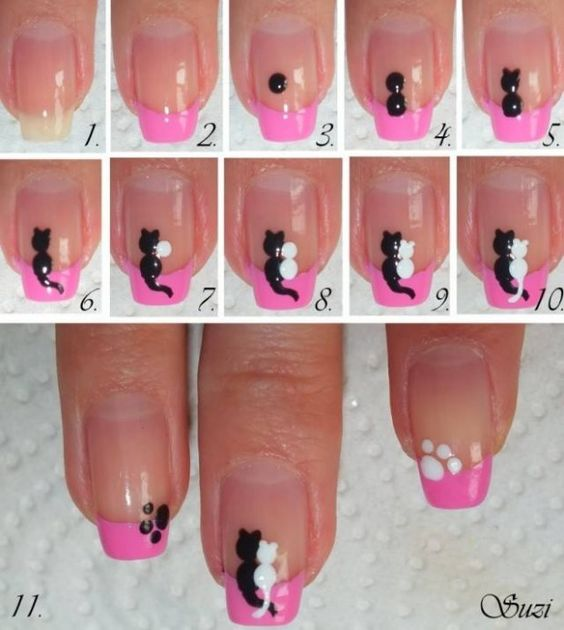 nail80 - 111 Nail Art Tutorials - Learn How To Do The Simple Ones To Intricate Details