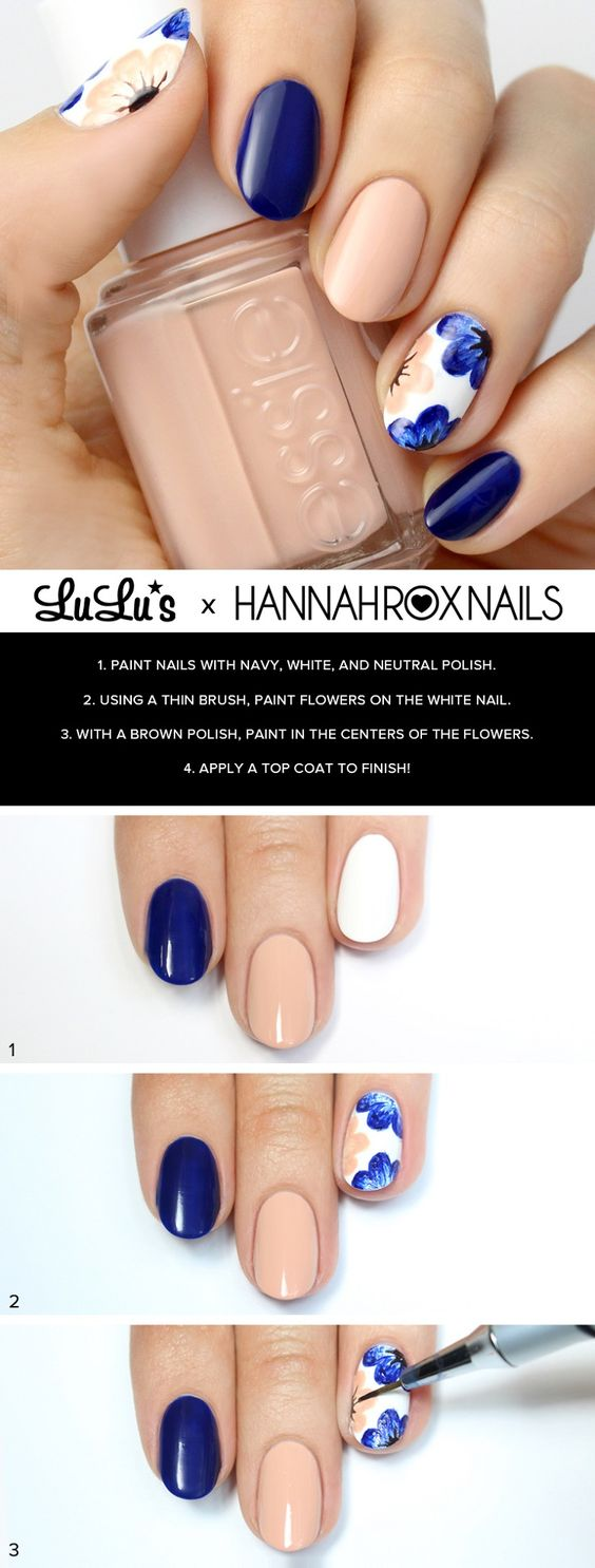 nail81 - 111 Nail Art Tutorials - Learn How To Do The Simple Ones To Intricate Details