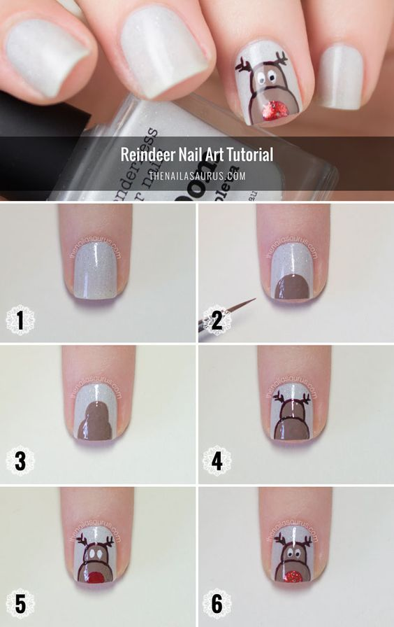nail87 - 111 Nail Art Tutorials - Learn How To Do The Simple Ones To Intricate Details