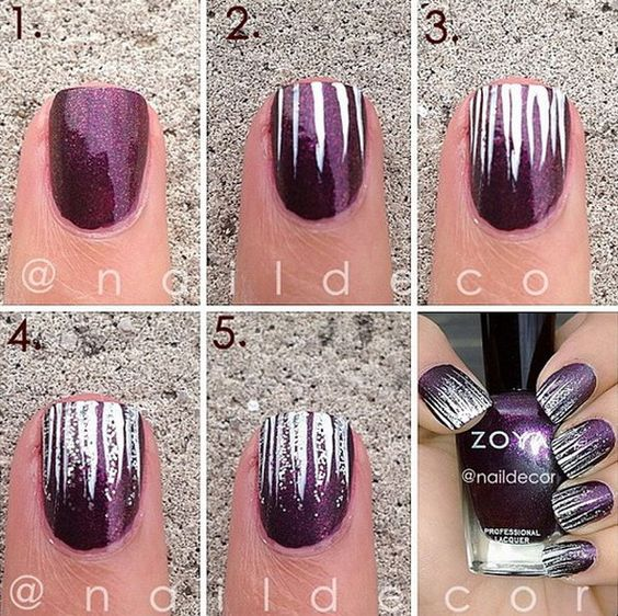 nail88 - 111 Nail Art Tutorials - Learn How To Do The Simple Ones To Intricate Details