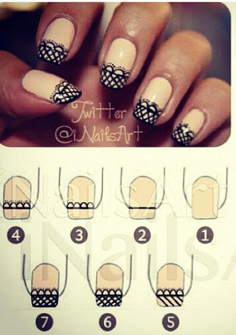 nail89 - 111 Nail Art Tutorials - Learn How To Do The Simple Ones To Intricate Details