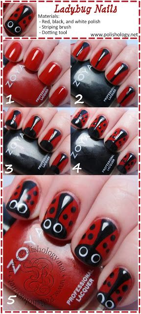 nail91 - 111 Nail Art Tutorials - Learn How To Do The Simple Ones To Intricate Details