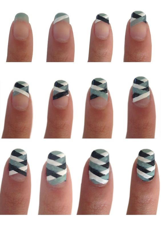 nail96 - 111 Nail Art Tutorials - Learn How To Do The Simple Ones To Intricate Details