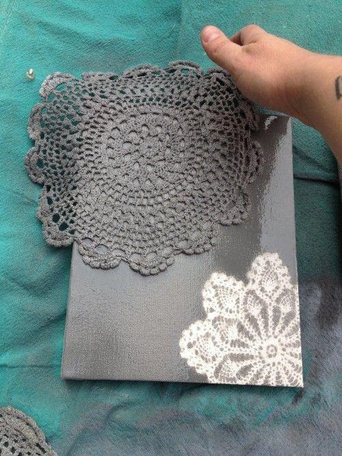 crochet pattern painting