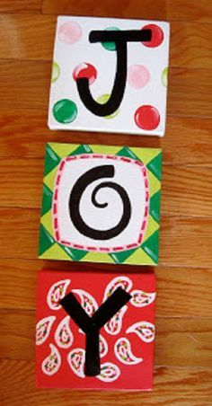 easy painting ideas with letters