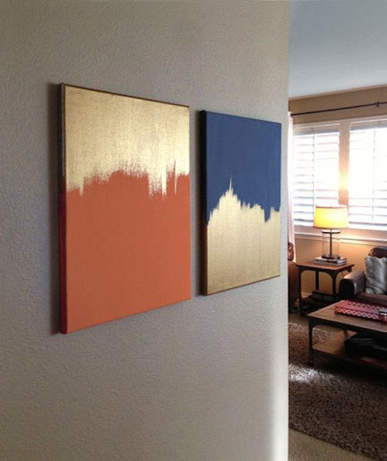 solid colors paintings
