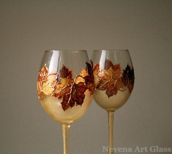 wg4 - 15 Painted Wine Glasses to Liven Up Your Meal