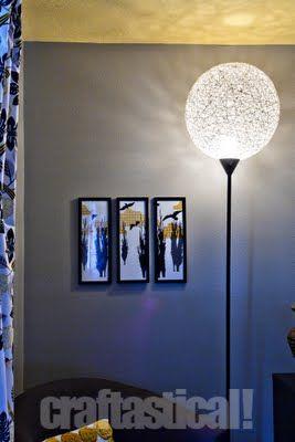 crystal ball floor lamp