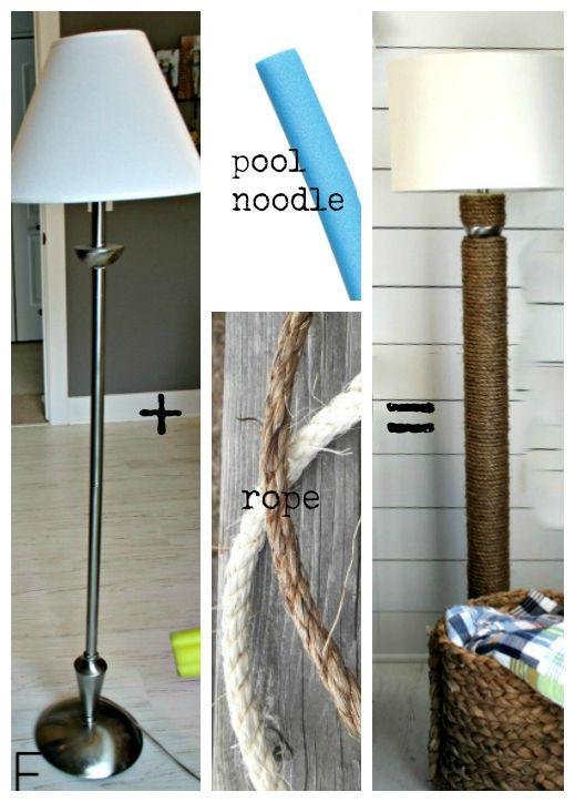 rope base floor lamp