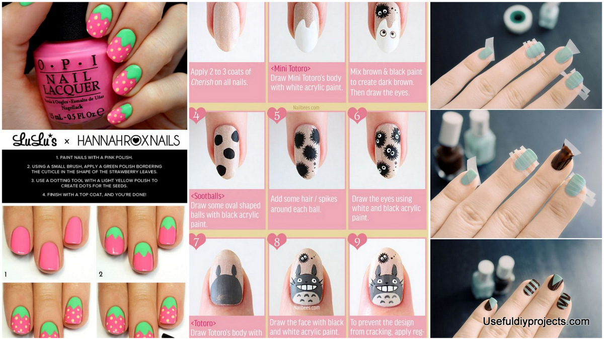 Can You Do Nail Art With Acrylic Paint