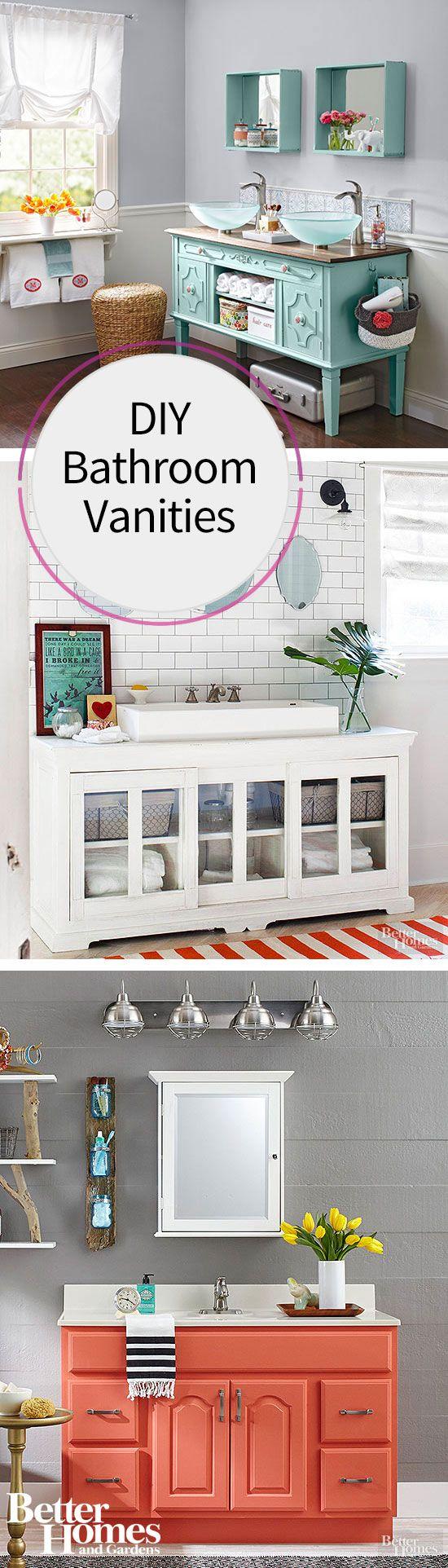 DIY Vanity Idea