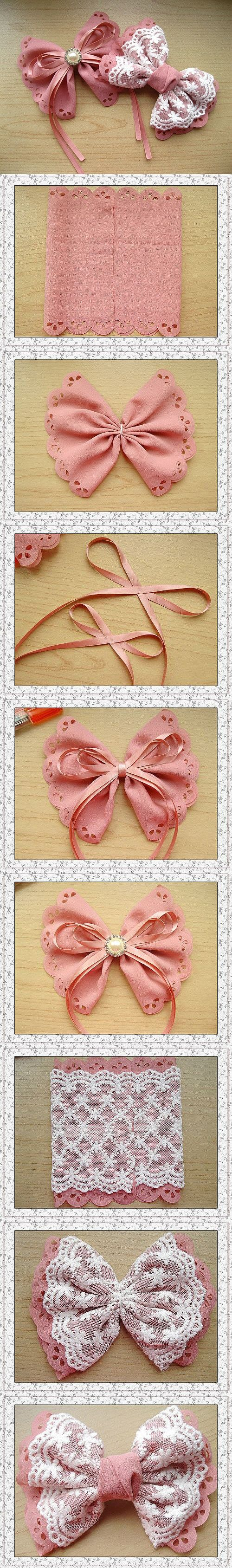 How To Make Hair Bows For Your Little Girls