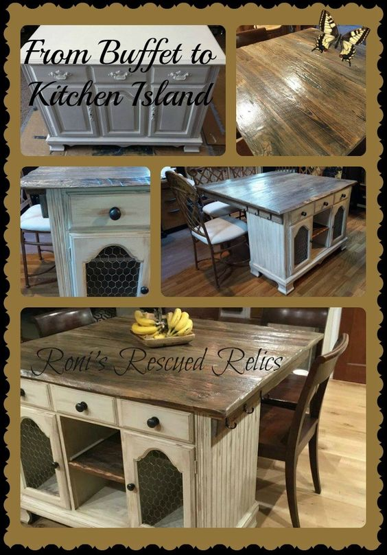 Kitchen Island Table Designs