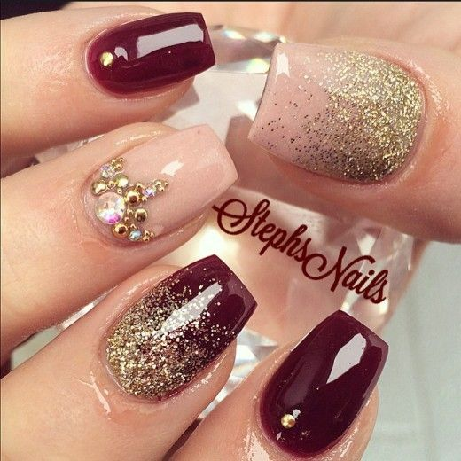 nail10 1 - 37 Acrylic Nail Art Designs You'll Want To Try For Upcoming Parties And Events