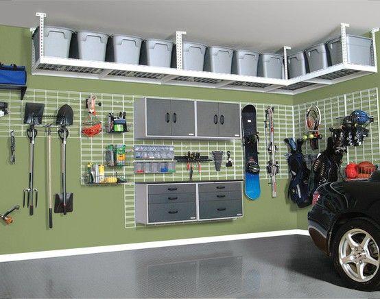 storage17 - Organize Your Items With These 17 Garage Storage Ideas