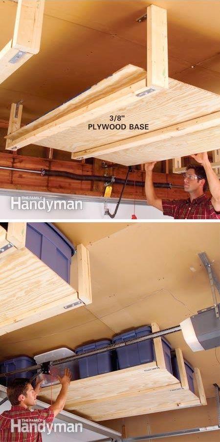 storage4 - Organize Your Items With These 17 Garage Storage Ideas