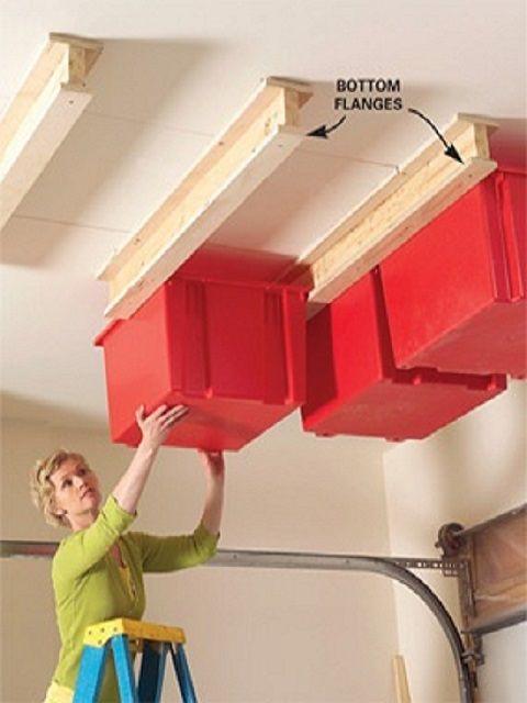storage9 - Organize Your Items With These 17 Garage Storage Ideas