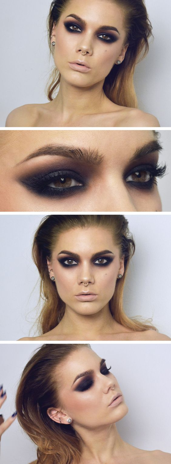 z10 1 - Get Ready For A Glamorous Night With These 15 Smokey Eye Makeup Ideas