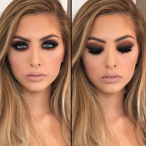 z12 1 - Get Ready For A Glamorous Night With These 15 Smokey Eye Makeup Ideas