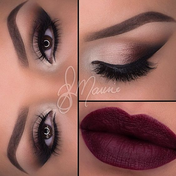 z14 1 - Get Ready For A Glamorous Night With These 15 Smokey Eye Makeup Ideas