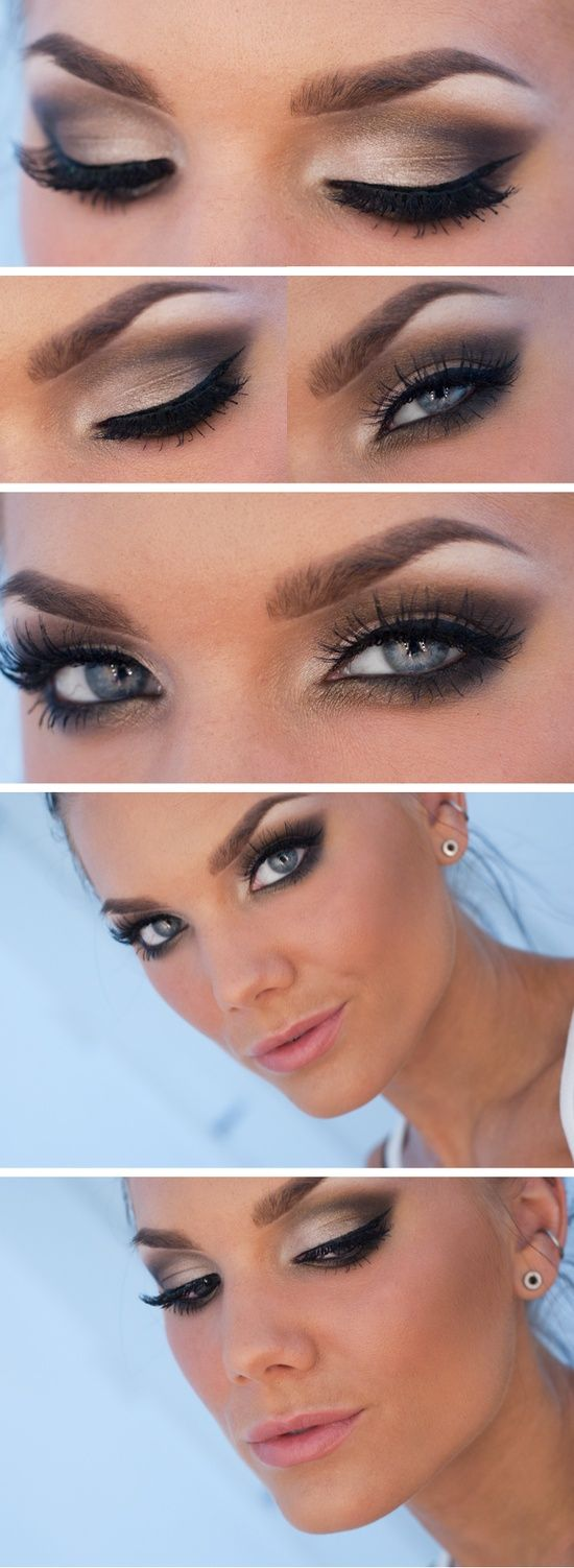 z3 1 - Get Ready For A Glamorous Night With These 15 Smokey Eye Makeup Ideas