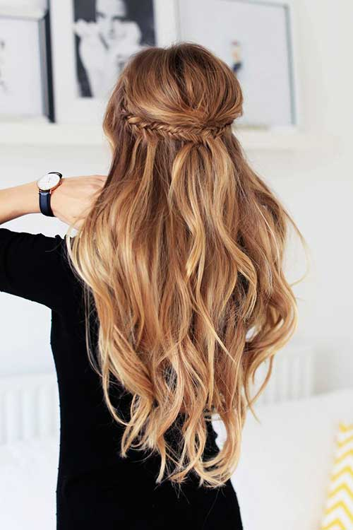 Simple Long Hair Style - How To Grow Your Hair Faster 1 To 2 Inches In Just 1 Week