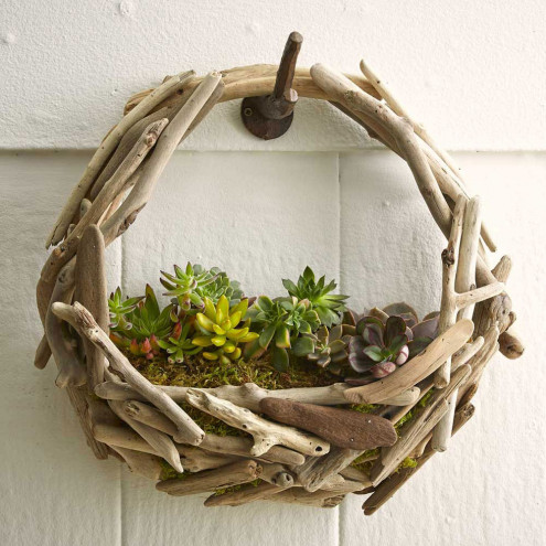 Fill Your Home With 45 Delicate Diy Driftwood Crafts