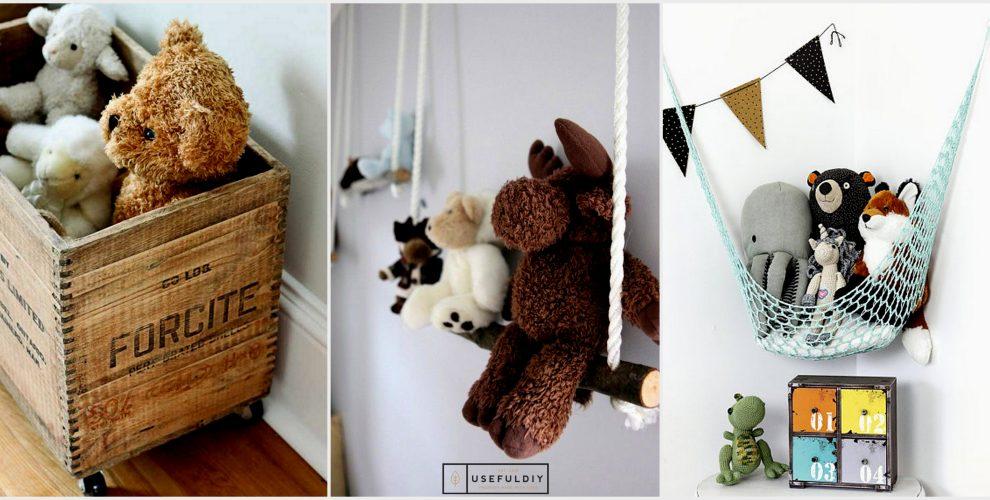 Top 40 Stuffed Animal Storage Ideas To Consider Useful
