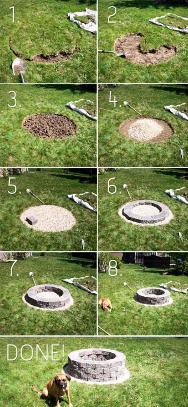 Top 40 DIY Fire Pit Ideas to Warm Your Summer Nights usefuldiyprojetcs 12 - Top 50+ DIY Fire Pit Ideas to Warm Your Summer Nights