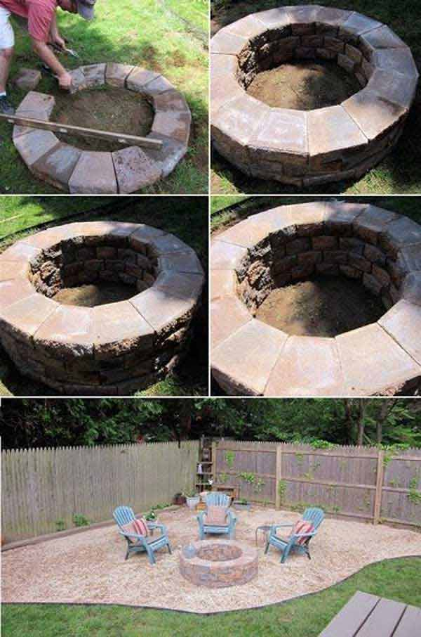 Top 40 DIY Fire Pit Ideas to Warm Your Summer Nights usefuldiyprojetcs 15 - Top 50+ DIY Fire Pit Ideas to Warm Your Summer Nights
