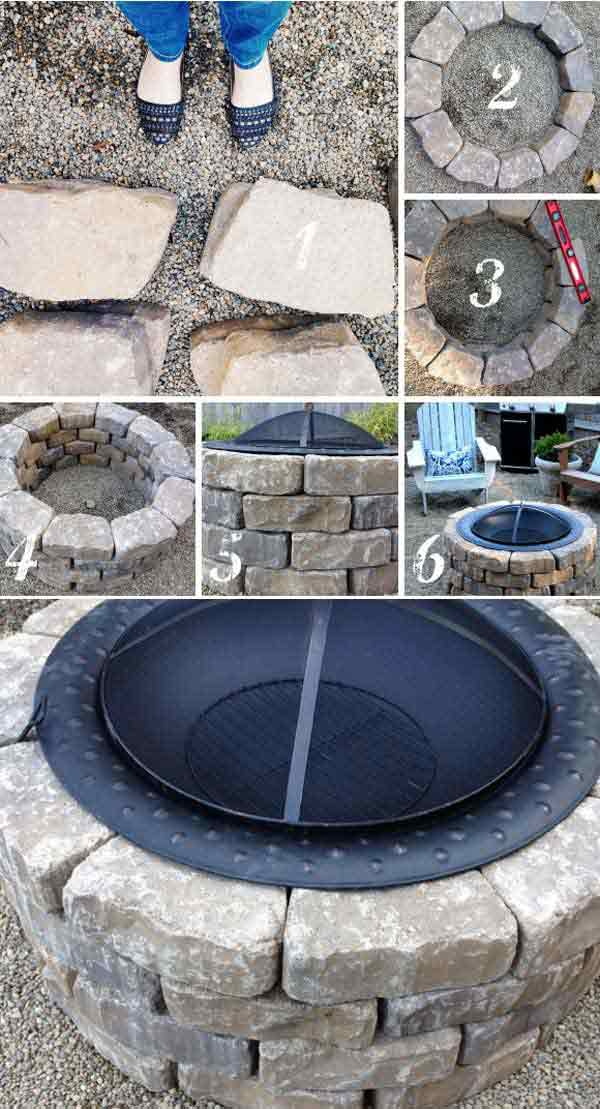 Top 40 DIY Fire Pit Ideas to Warm Your Summer Nights usefuldiyprojetcs 2 - Top 50+ DIY Fire Pit Ideas to Warm Your Summer Nights