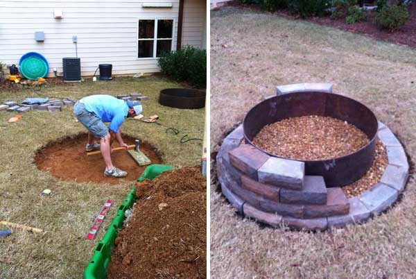 Top 40 DIY Fire Pit Ideas to Warm Your Summer Nights usefuldiyprojetcs 24 - Top 50+ DIY Fire Pit Ideas to Warm Your Summer Nights