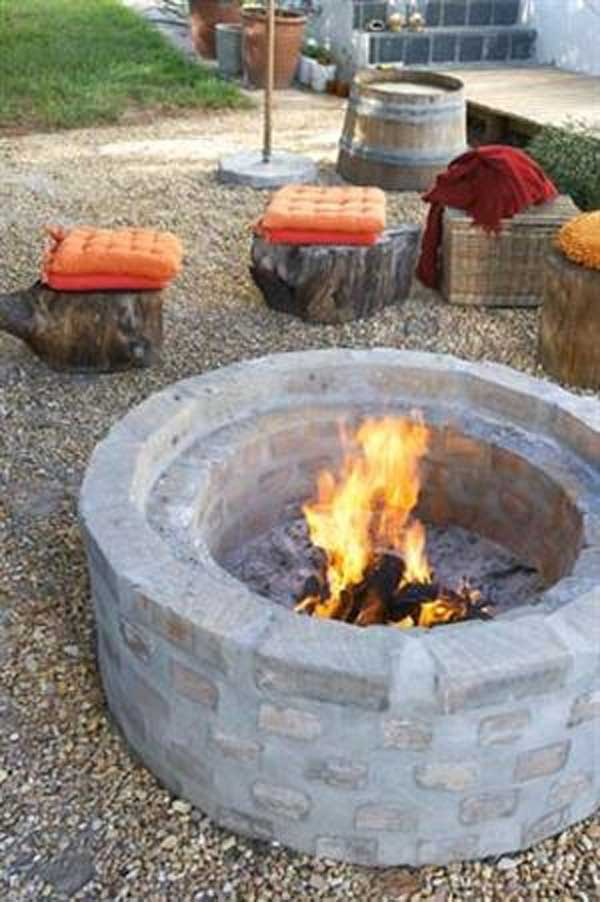 Top 40 DIY Fire Pit Ideas to Warm Your Summer Nights usefuldiyprojetcs 27 - Top 50+ DIY Fire Pit Ideas to Warm Your Summer Nights