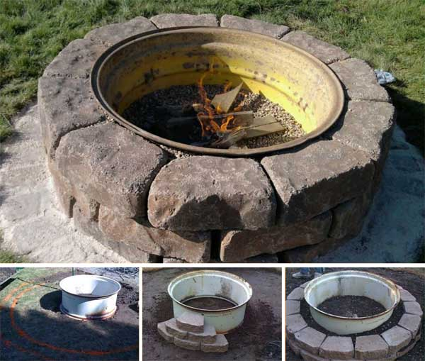 Top 40 DIY Fire Pit Ideas to Warm Your Summer Nights usefuldiyprojetcs 6 - Top 50+ DIY Fire Pit Ideas to Warm Your Summer Nights
